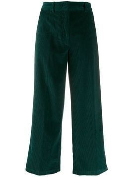 Aspesi corduroy wide-leg trousers - Green