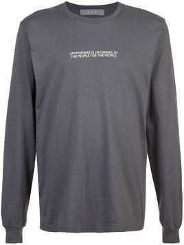 Geo End sweatshirt - Grey