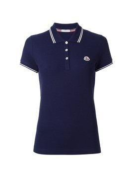 Moncler short sleeve polo shirt - Blue