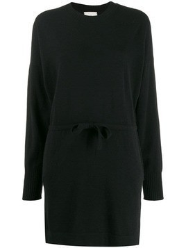 Le Kasha japan knitted dress - Black