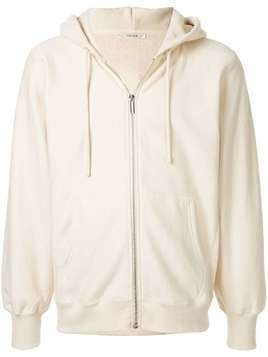 The Row Loopback zipped hoodie - White