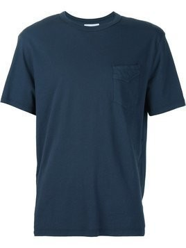 Officine Generale chest pocket T-shirt - Blue