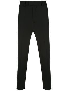 Isabel Benenato tailored military trousers - Black