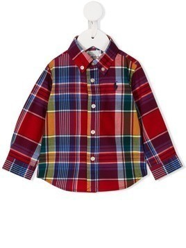 Ralph Lauren Kids checked shirt - Red