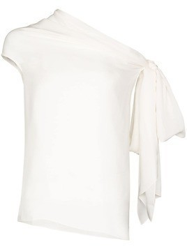 Roland Mouret Orzora off-the-shoulder top - White