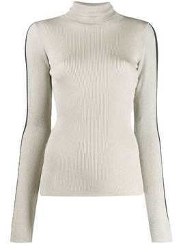 Ssheena ribbed roll neck sweater - Grey
