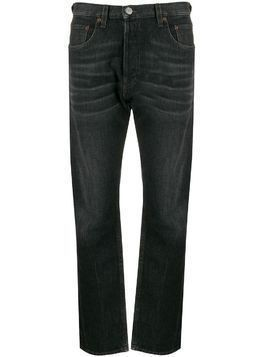 Haikure high rise straight-leg jeans - Black