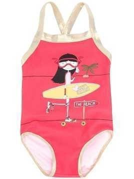 Little Marc Jacobs 'The Beach' swimsuit - Pink