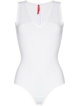 Spanx Suit Yourself V-neck bodysuit - White