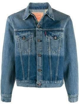 Levi's Vintage Clothing patch dyed jacket - Blue