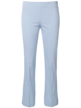 Meme classic cropped trousers - Blue