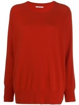 Chinti & Parker loose fit cashmere jumper - Red