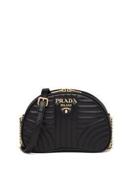 Prada Diagramme crossbody bag - Black