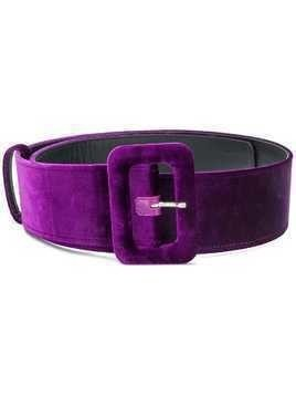 Attico classic buckled belt - Pink & Purple