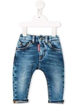 Dsquared2 Kids faded denim jeans - Blue