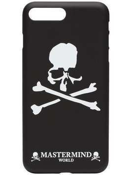 Mastermind Japan Skull Print iPhone 8+ Phone Case - Black