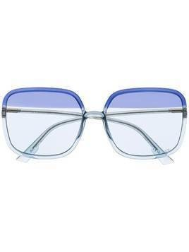 Dior Eyewear SoStellaire1 square-frame sunglasses - Blue