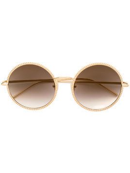 Boucheron BC0045S round sunglasses - Metallic