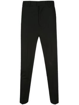 Isabel Benenato slim-fit tailored trousers - Black