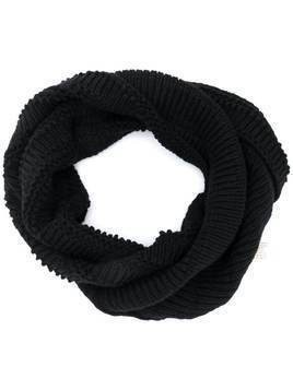 Forme D'expression chunky weave snood - Black