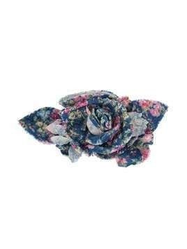 Philosophy Di Lorenzo Serafini printed flower brooch - Blue