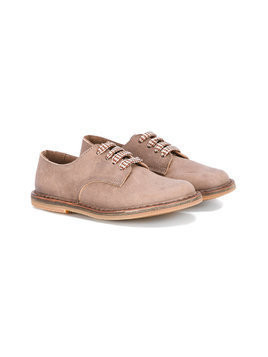 Pépé Kids lace-up shoes - Brown