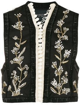 Giambattista Valli embellished vest - Black