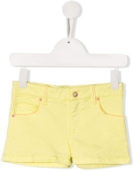 Billieblush five pocket denim shorts - Yellow