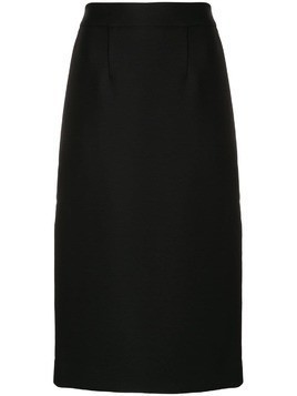 P.A.R.O.S.H. side stripe pencil skirt - Black