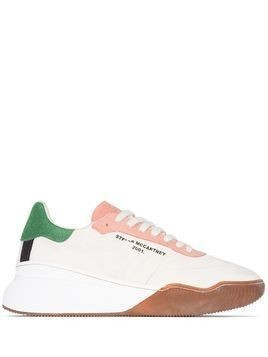 Stella McCartney Loop lace-up sneakers - NEUTRALS