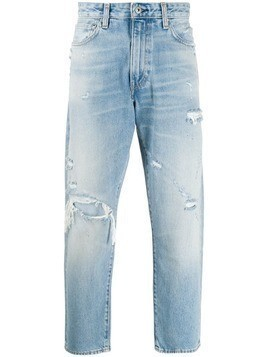 Levi's: Made & Crafted Draft Taper mid-rise - Blue