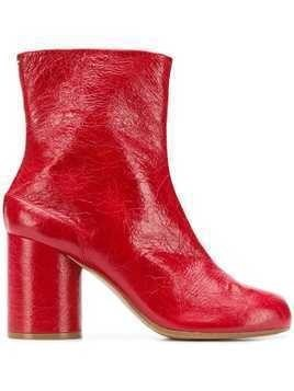 Maison Margiela Tabi ankle boots - Red