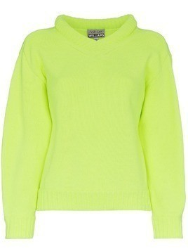 Ashley Williams Grace Knit Jumper - Yellow