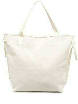 Aeron square-shape tote bag - Neutrals