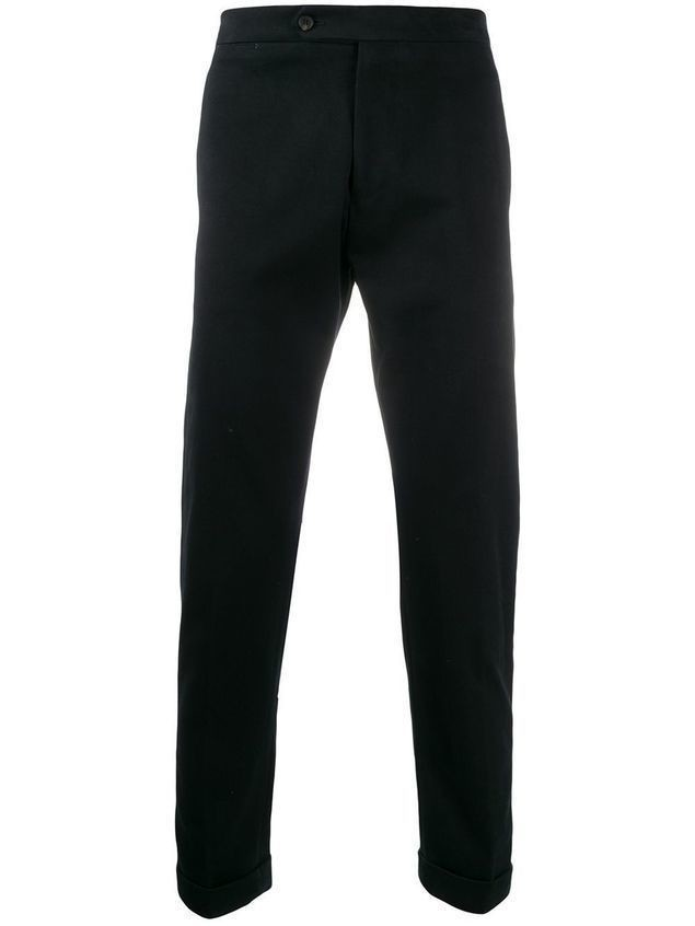 Berwich straight-leg trousers - Blue