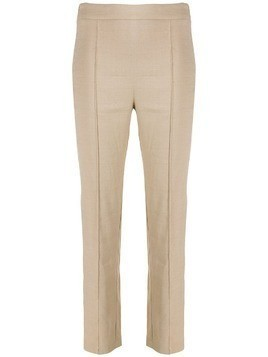 Hebe Studio high-waisted smoking pants - Neutrals