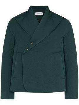 Kiko Kostadinov Vein cropped padded jacket - Green