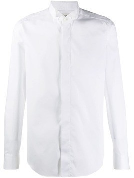 Alessandro Gherardi concealed front shirt - White
