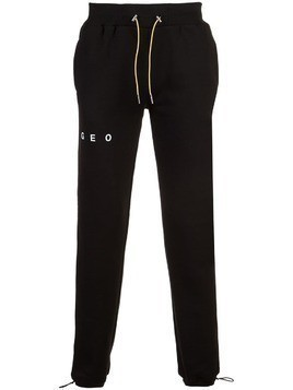 Geo essential sweatpants - Black