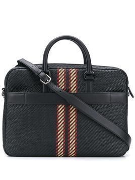 Ermenegildo Zegna Pelletessuta laptop bag - Black