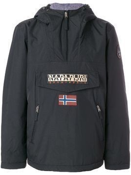 Napapijri zipped neck windbreaker - Black