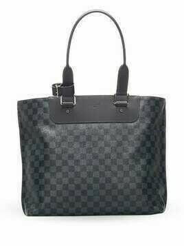 Louis Vuitton 2016 pre-owned Damier Graphite tote bag - Black