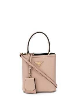 Prada Panier top-handle bag - NEUTRALS