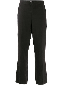 Julien David straight-leg trousers - Black