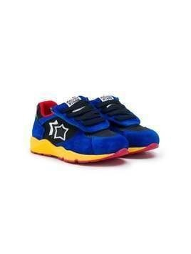 Atlantic Stars Virgo textured sneakers - Blue