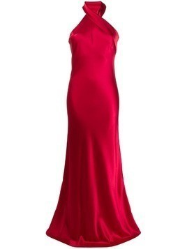 Galvan Pandora dress - Red