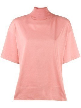 Acne Studios mock neck T-shirt - Pink