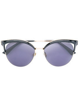 Bolon polarized cat eye sunglasses - Black