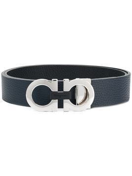 Salvatore Ferragamo Gancini buckle belt - Blue