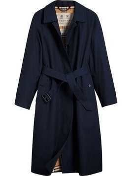 Burberry The Brighton – Extra-long Car Coat - Blue